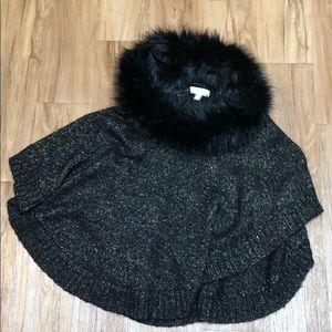 Michael Kors Sweater Pancho